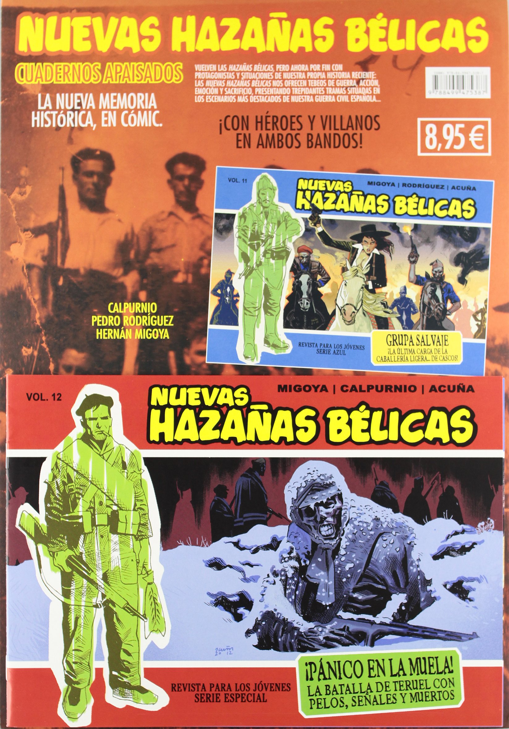 Nuevas hazañas bélicas 12: Amazon.es: Calpurnio, Migoya, Pere Joan, Pedro Rodríguez, Juaco Vizuete, Kano, Bartolomé Seguí , Miguel Ángel Martín, ...