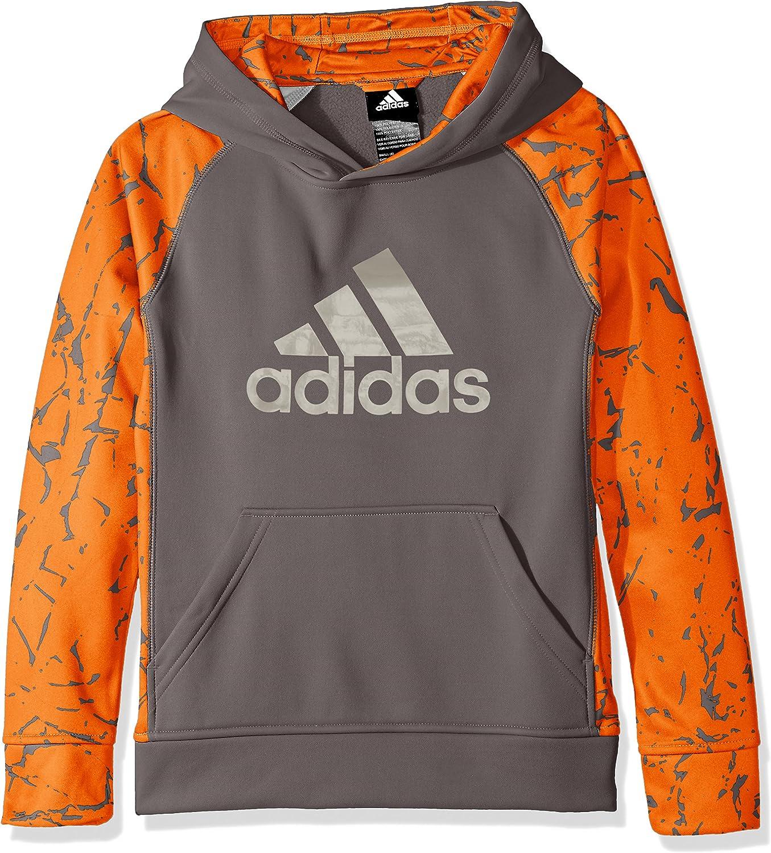 adidas Boys' Active Hoodie: Clothing