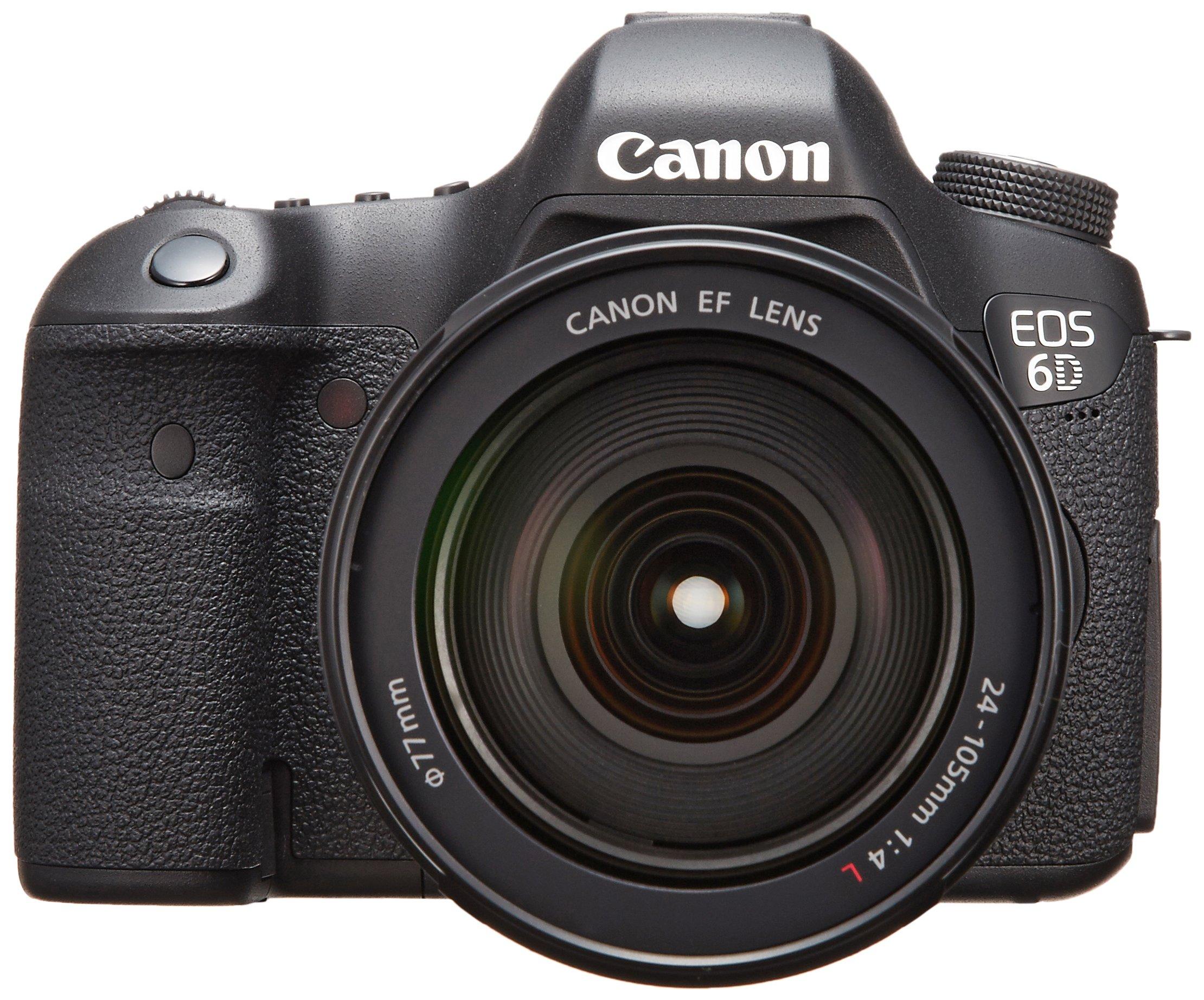 Canon デジタル一眼レフカメラ EOS 6D レンズキット EF24-105mm F4L IS USM付属 EOS6D24105ISLK product image