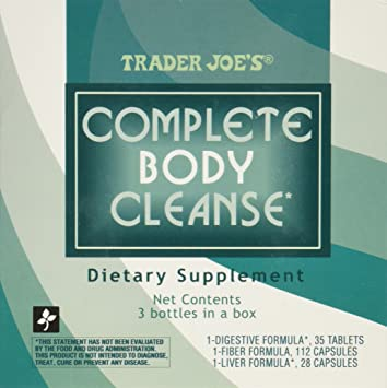 Amazon trader joes complete body cleanse health personal care trader joes complete body cleanse malvernweather Image collections