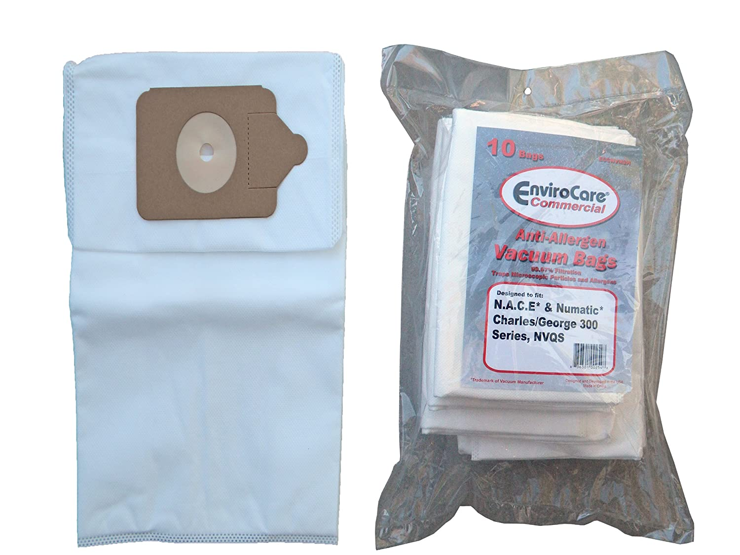 HEPA Bags for Hoover Platinum 985059002 Canister Anti Allergen 24