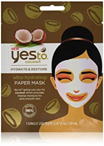 Yes to Coconut Paper Mask (Pack of 12)