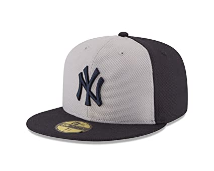 on sale 02cf5 1a0ee MLB New York Yankees Men s Diamond Era 59FIFTY Cap, 7, Gray