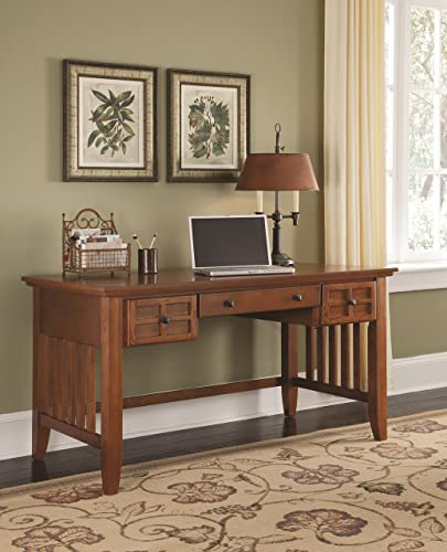 Arts Crafts Cottage Oak Executive Desk