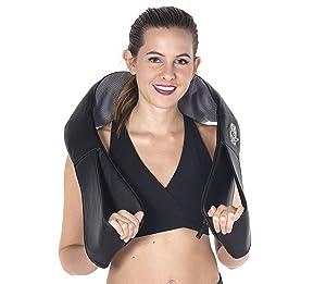 Liba Shiatsu Deep Kneading Massager with Heat
