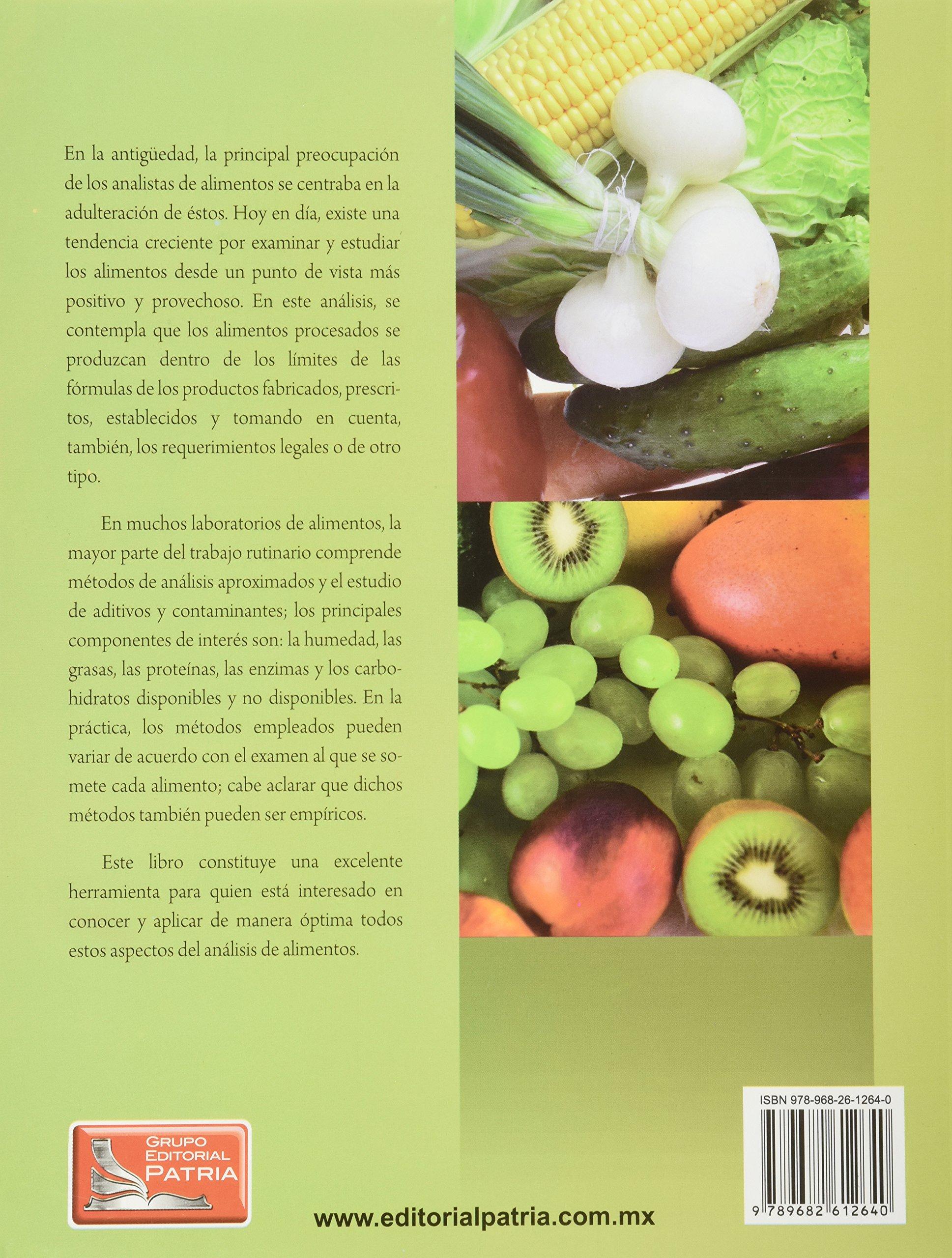 COMPOSICION Y ANALISIS DE ALIMENTOS DE PEARSON: R. S. KIRK ...