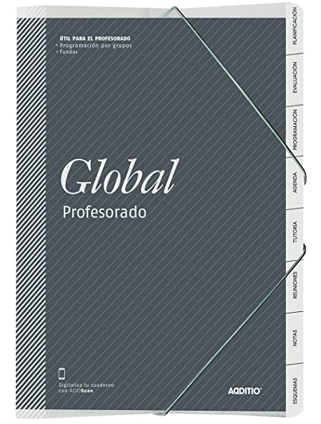 Amazon.com : CARPETA GLOBAL PROFESORADO ADDITIO : Office ...