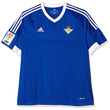 2ª Equipación Real Betis Balompie 2015/2016 - Camiseta oficial adidas para hombre, color azul / blanco (azufue/blanco), talla 2XL: Amazon.es: Zapatos y ...