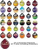 Lot de 46 capsules 37 saveurs - Compatibles TASSIMO T