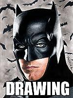 Time Lapse Drawing of Batman