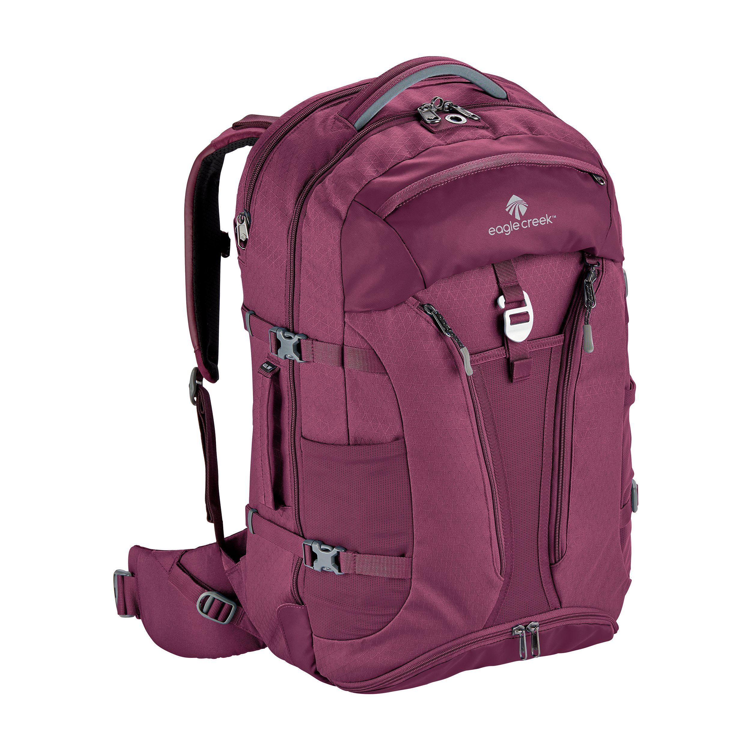 Eagle Creek Global Companion 40L Women's Backpack Travel Water Resistant Mulituse-17in Laptop Carry-On Luggage, Concord