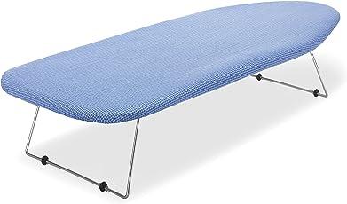 Mesa Tabla de planchar W/Retractable gancho para colgar, malla de acero