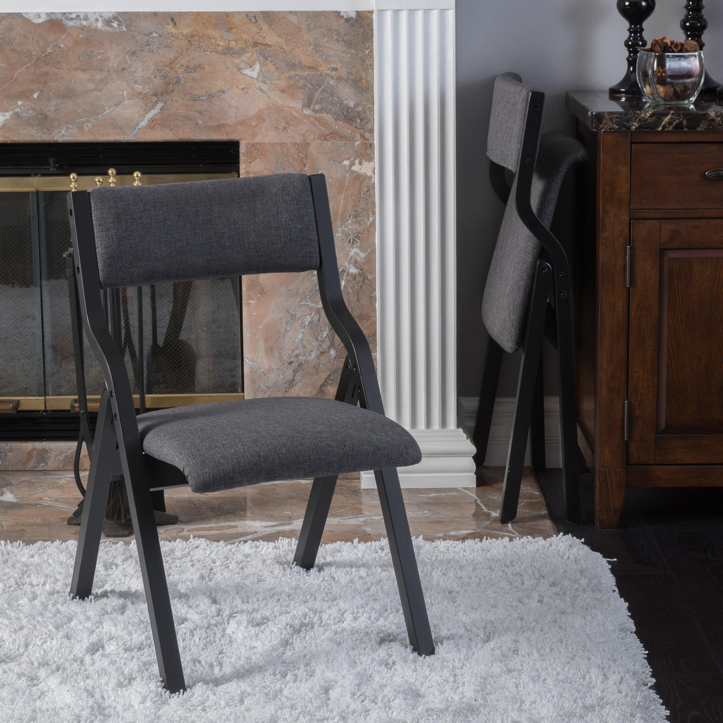Christopher Knight Home 296212 Aneka Chair, Smoky