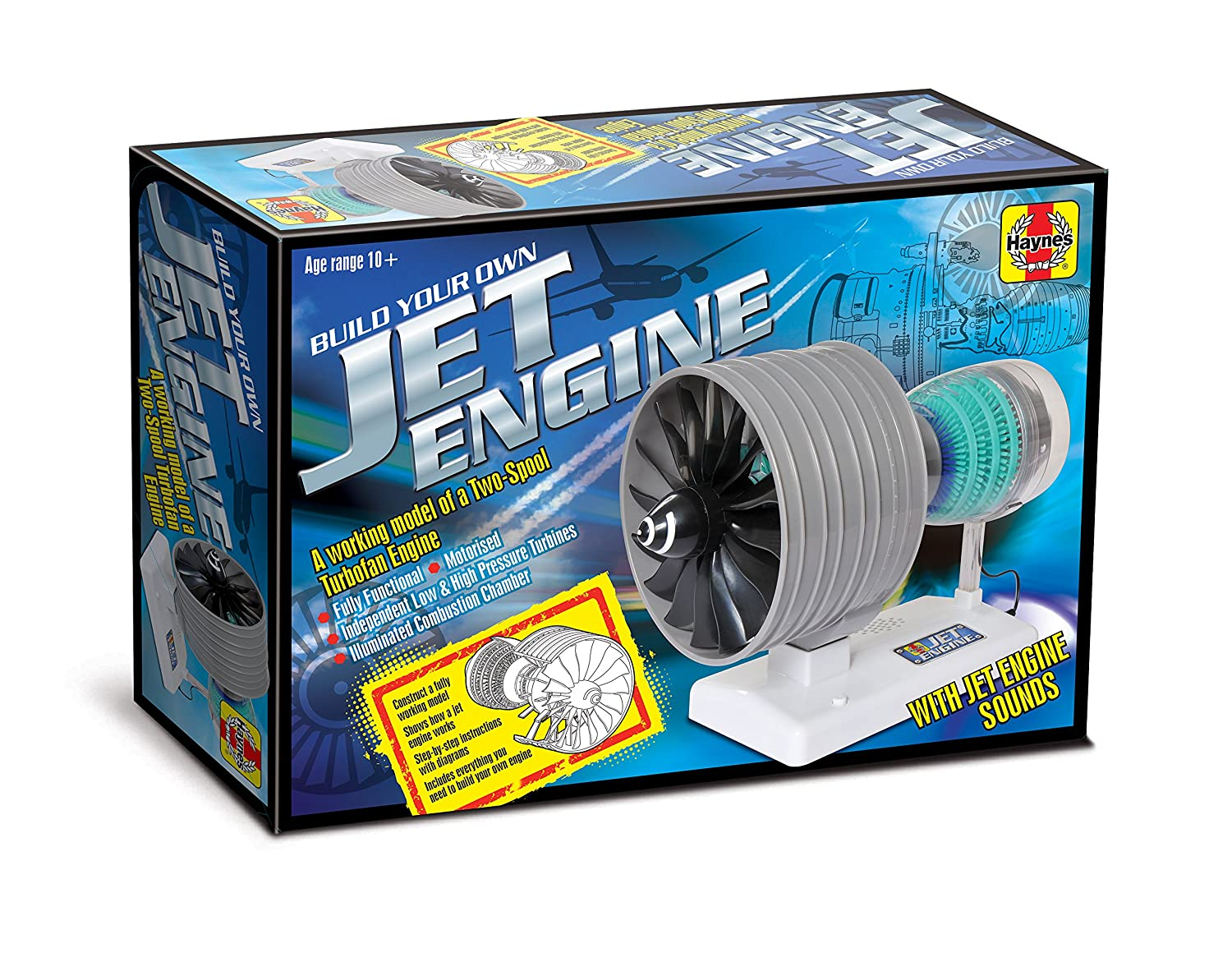 Jet Engine Diagram How It Works.Haynes Build Your Own Jet Engine Fully Working Model Kit