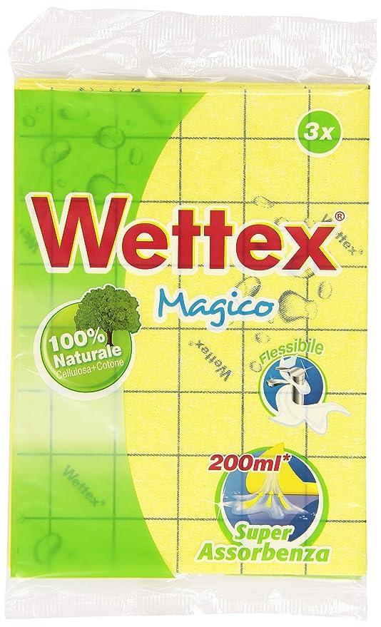 9 opinioni per Wettex- Panno multiuso, Super Assorbenza- 3 pezzi