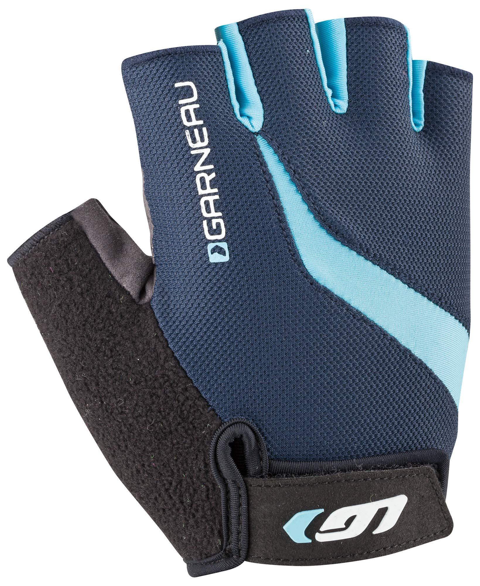 Louis Garneau Men's Biogel RX-V Bike Gloves, Royal, X-Small