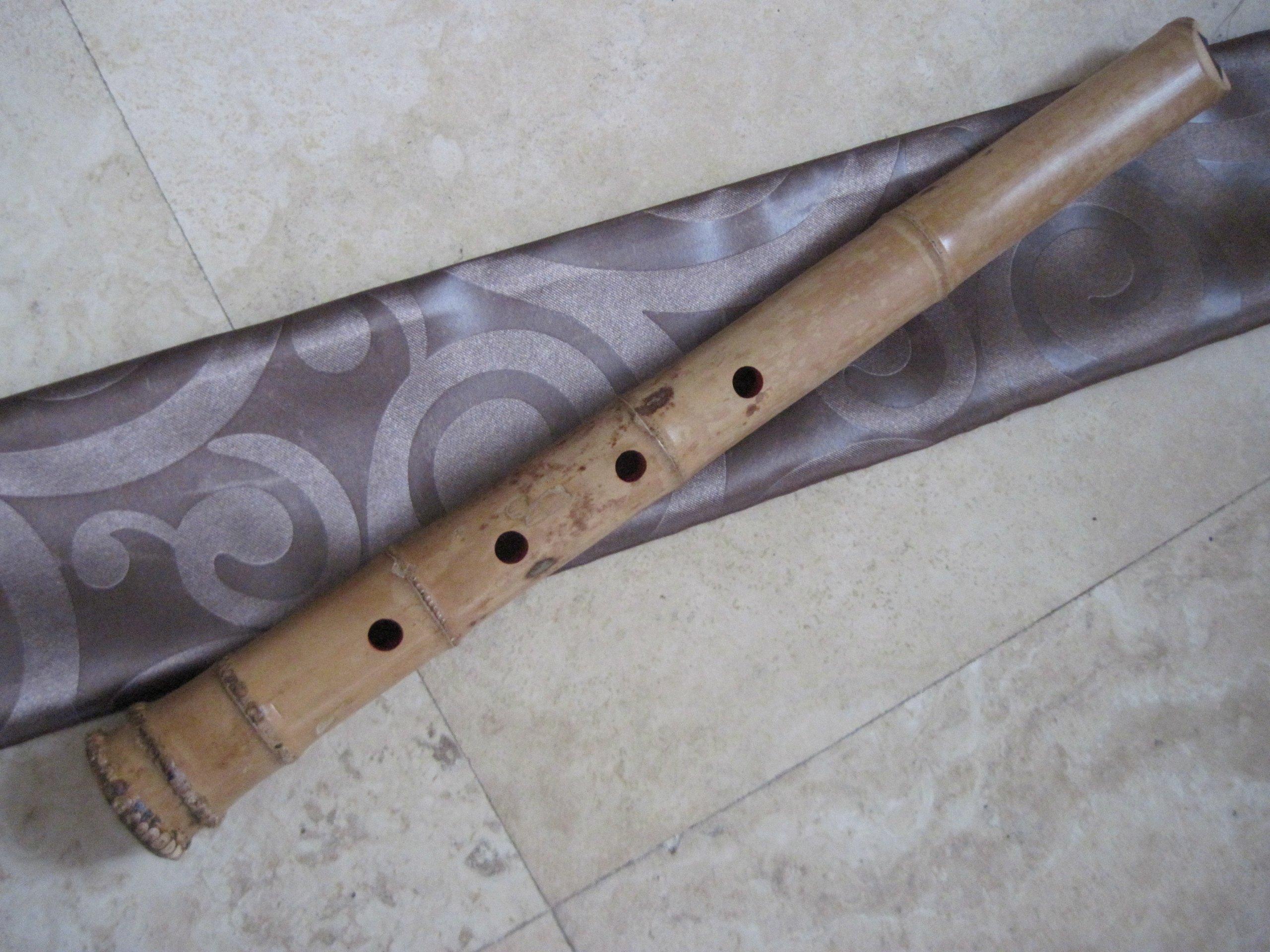 1.5 Shakuhachi Pentatonic w. Root End & KINKO Voicing Mouthpiece -- Zen Instrument