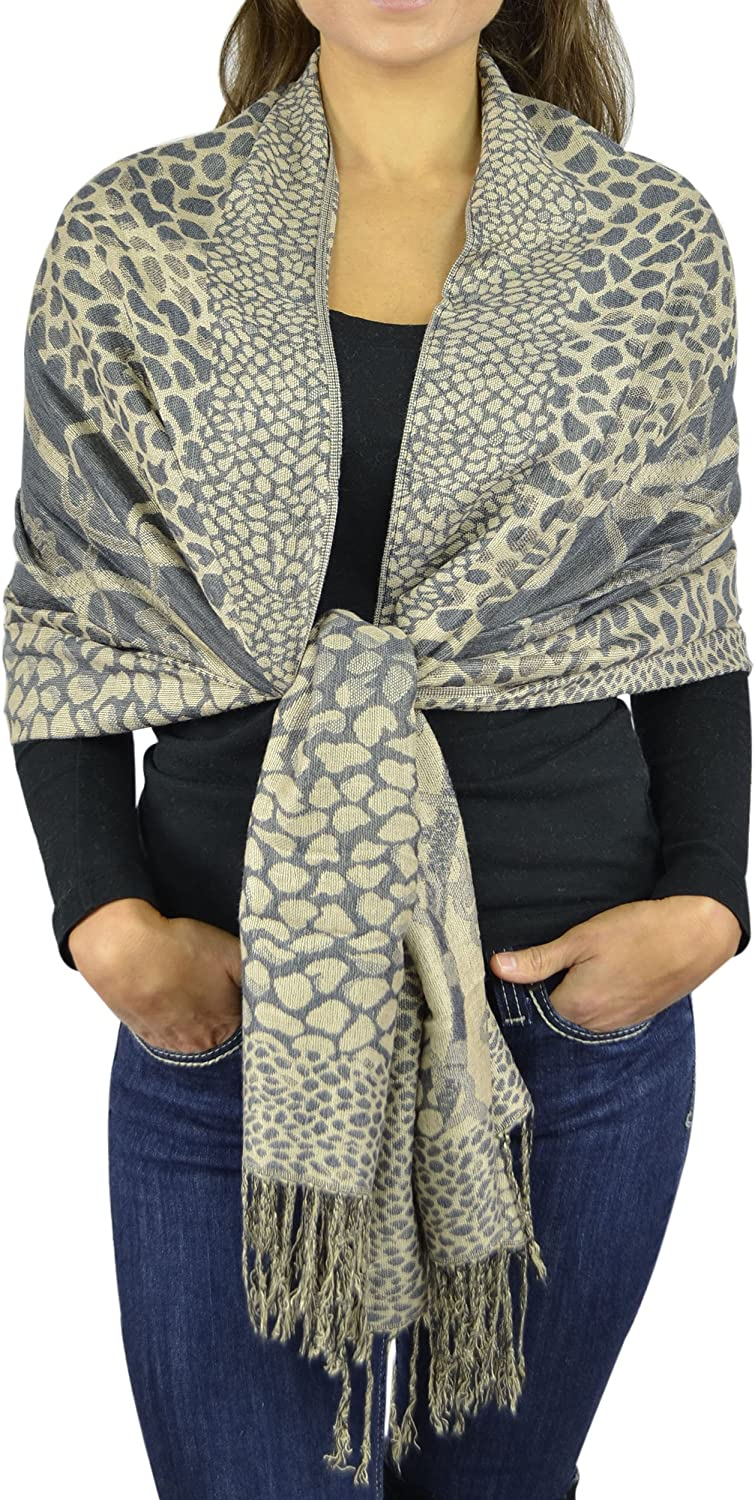 Pashmina Women Soft Wrap...