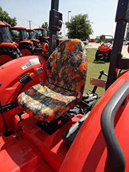DuraFit fundas de asiento, KU20 Kubota fundas de asiento para tractor mx4800, mx5200,