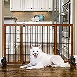 Carlson Freestanding Pet Gate, Large