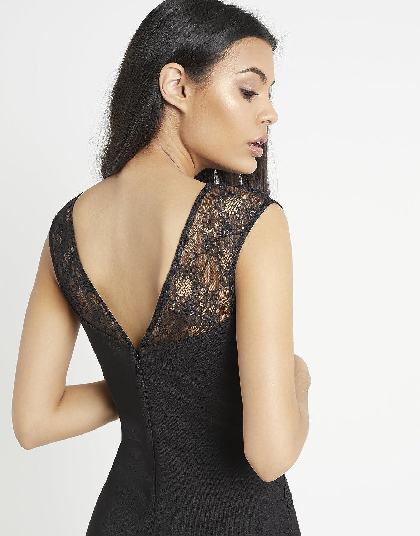 Lipsy Damen Love Michelle Keegan Bodycon-Kleid mit ...