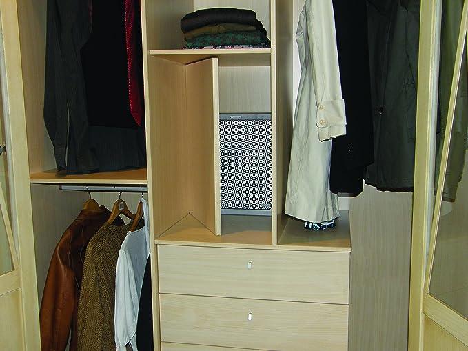 Arregui 17000-S5 Caja Fuerte camuflada para Falso Fondo de Armario Color Plata con Dibujo: Amazon.es: Bricolaje y herramientas