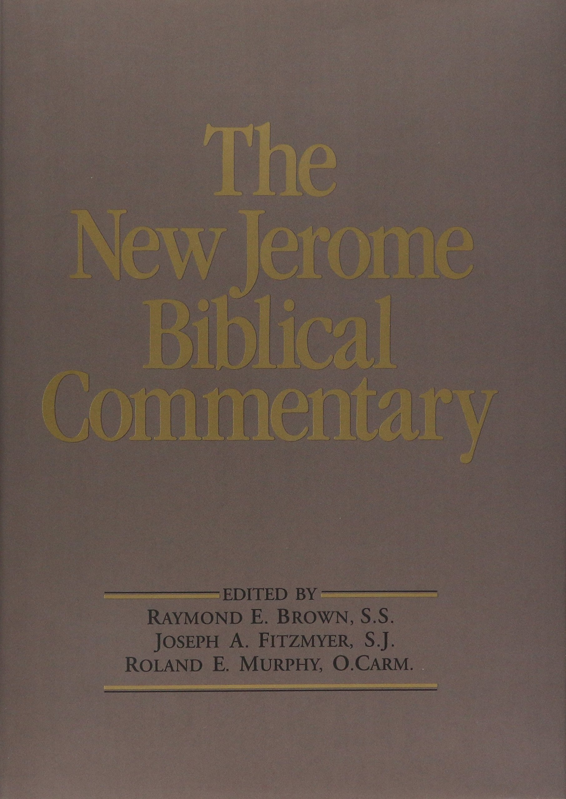 The New Jerome Biblical Commentary by Pearson
