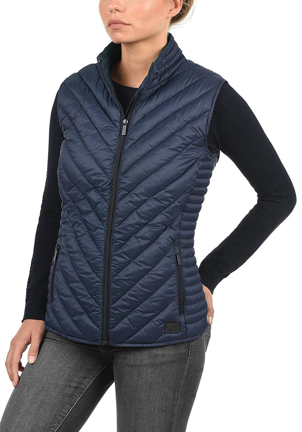 855b3a8bf0a BlendShe Sadie Women s Quilted Gilet Vest Body Warmer with Funnel Neck  larger image