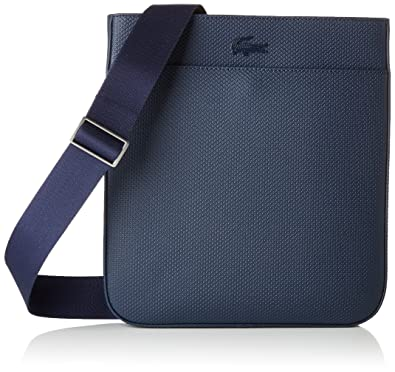 e4bb017d9f Lacoste Men's NH2627CE Shoulder Bag Blue Bleu (Peacoat): Amazon.co ...