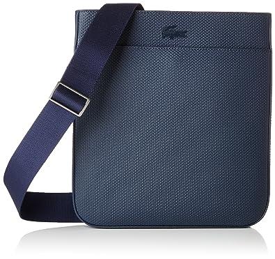 05a3ed15ad2 Lacoste Men's NH2627CE Shoulder Bag Blue Bleu (Peacoat): Amazon.co ...