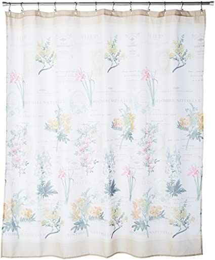 Avanti Linens 13669HIVR Alana Shower Curtain Medium Ivory