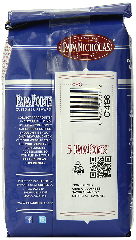 PapaNicholas Coffee Whole Bean Coffee, Family Reserve Kona Baru Blend, 12  Ounce