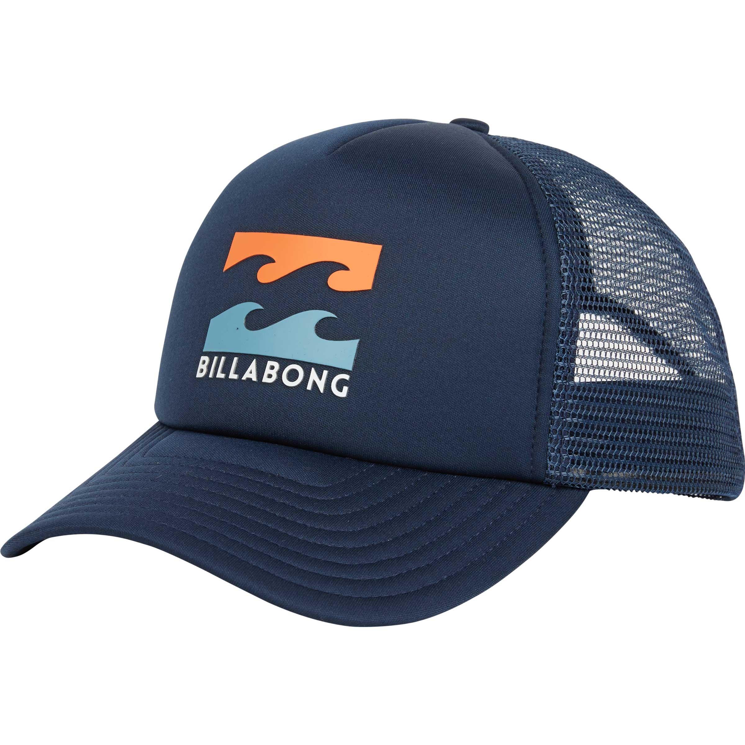 Billabong Men's Podium Trucker Hat Indigo One Size