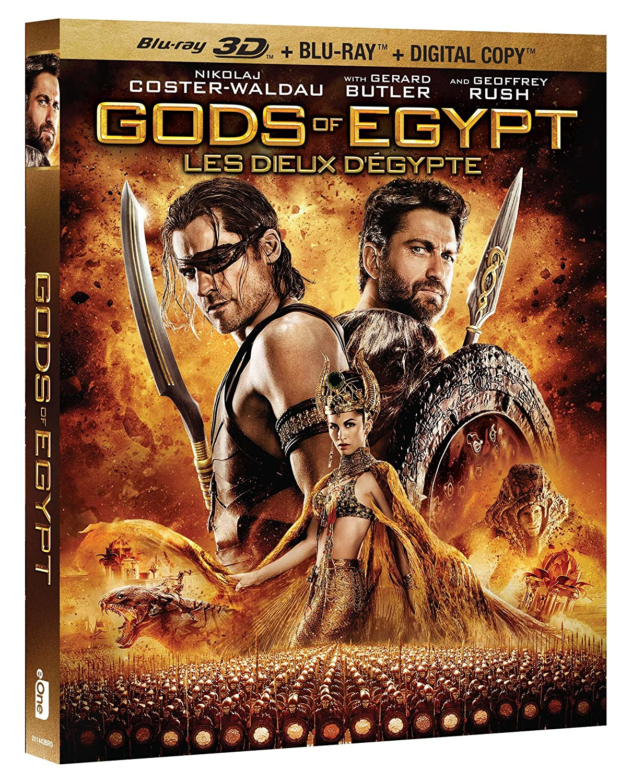 Gods Of Egypt [Blu-ray 3D + Blu-ray + Digital Copy] (Bilingual) Action & Adventure