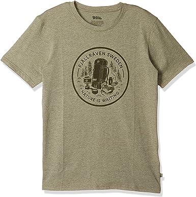 FJALLRAVEN Fikapaus T-Shirt M Camiseta Hombre