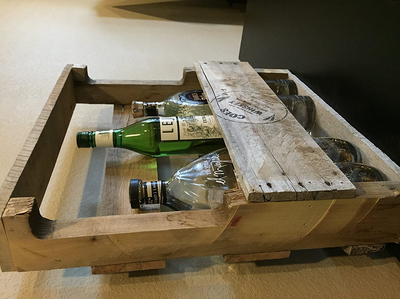 pallet whiskey rack. Pallet Whiskey Rack