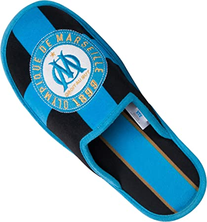 OLYMPIQUE DE MARSEILLE Chaussons Om Collection Officielle Taille Homme 45