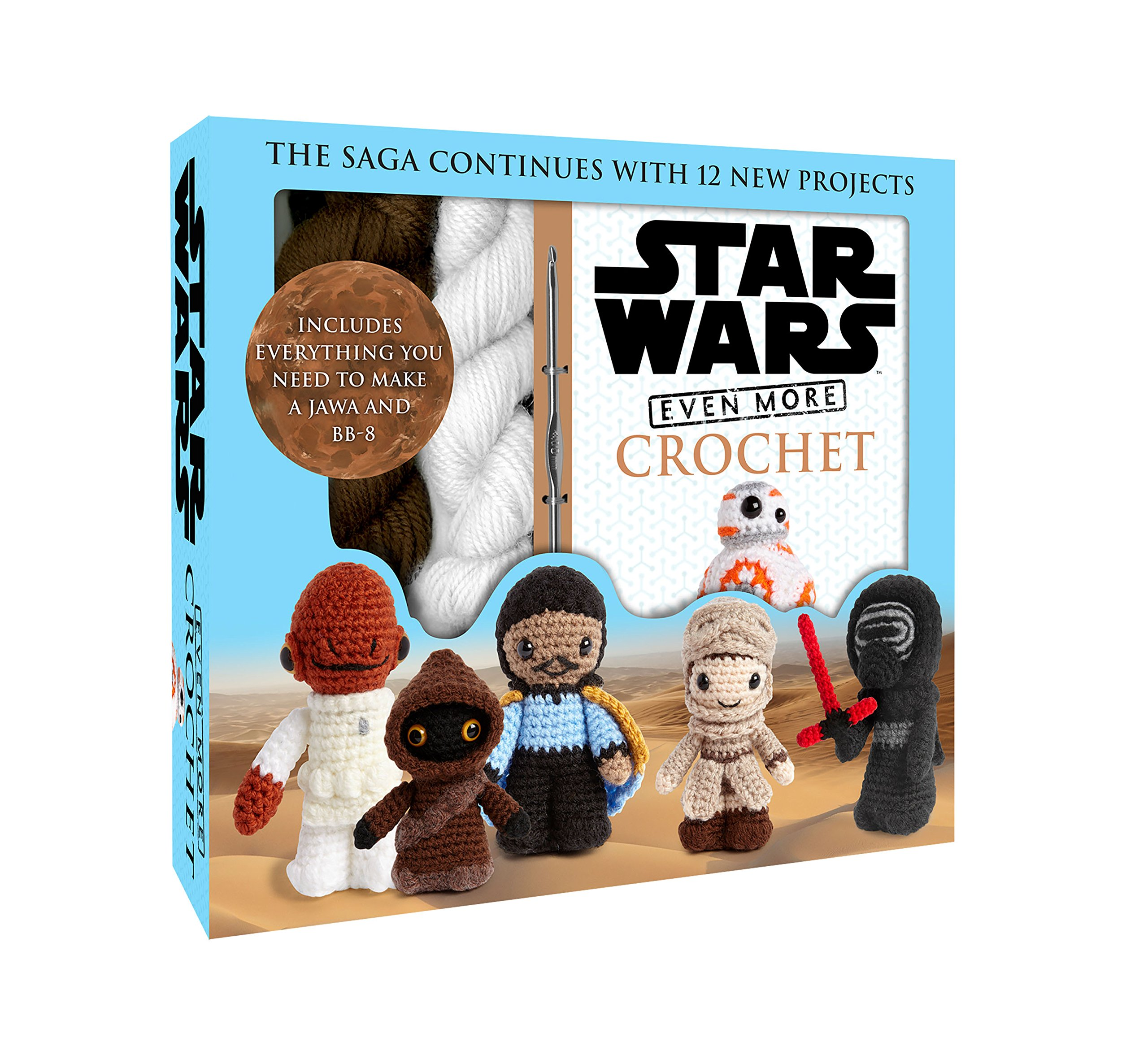Even More Star Wars Crochet Pack Star Wars Craft Band 2 Amazonde