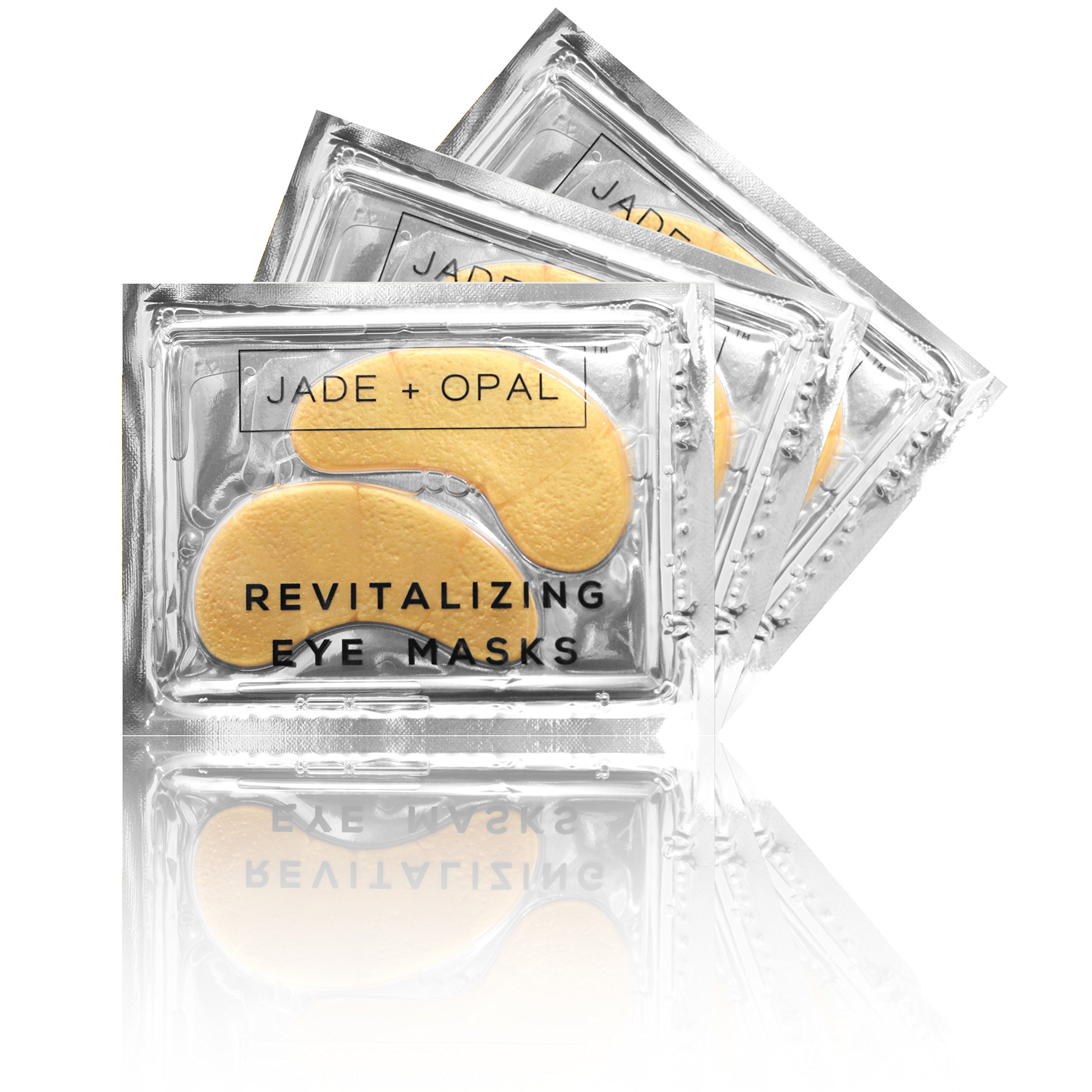 Jade and Opal Gold Collagen Revitalizing Eye Mask, 20 Pairs (Pack of 1) by Jade and Opal (Image #2)