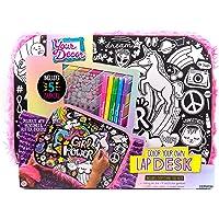 Your Decor Color Your Own Doodle Lap Desk Kit