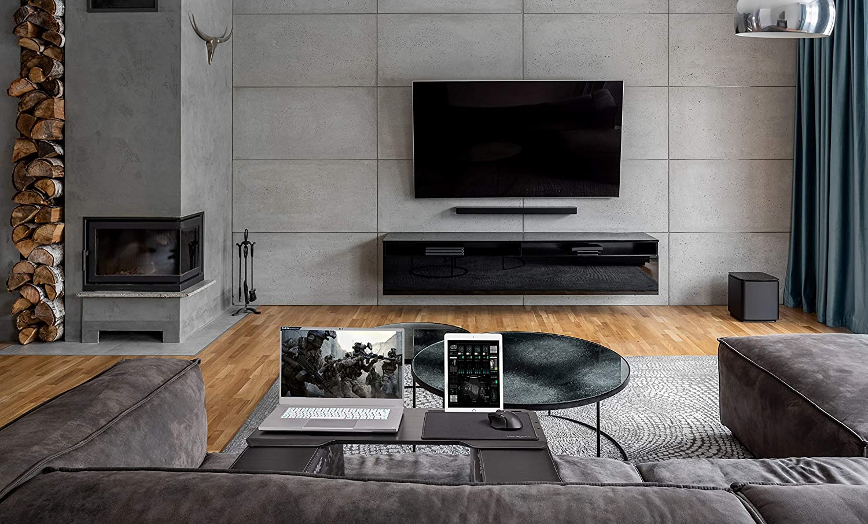 Couchmaster® CYBOT (Lapdesk Ergonomique pour Ordinateurs Portables ou périphériques sans Fil avec Coussins, Convient pour Couch/lit)
