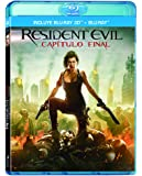 Resident Evil: Capítulo Final (Residen Evil: The Final Chapter) BLU-RAY 3D + BLU-RAY (Audio & Subtitles: English, Spanish & French) - REGION FREE