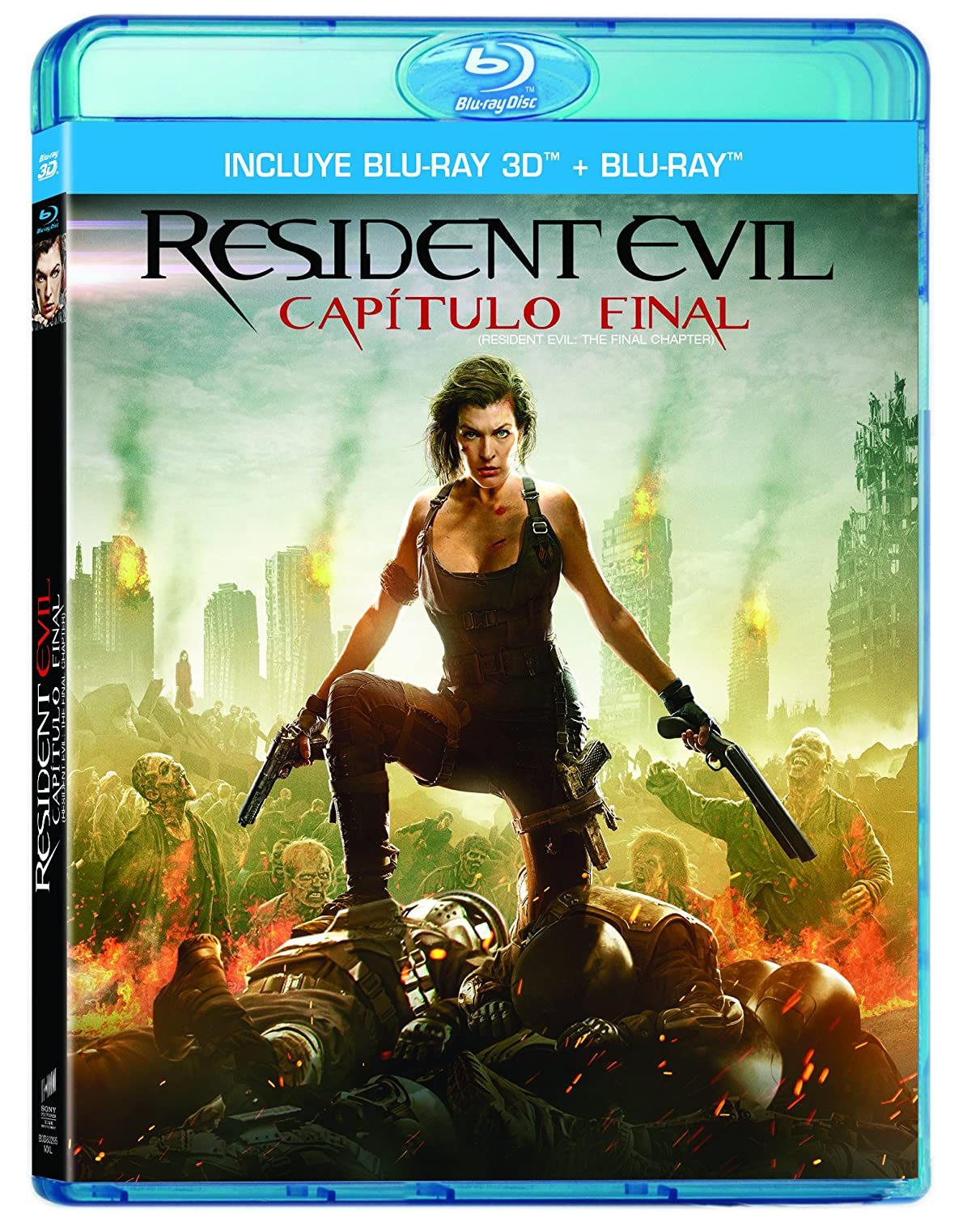 Amazon Com Resident Evil Capitulo Final Residen Evil The Final