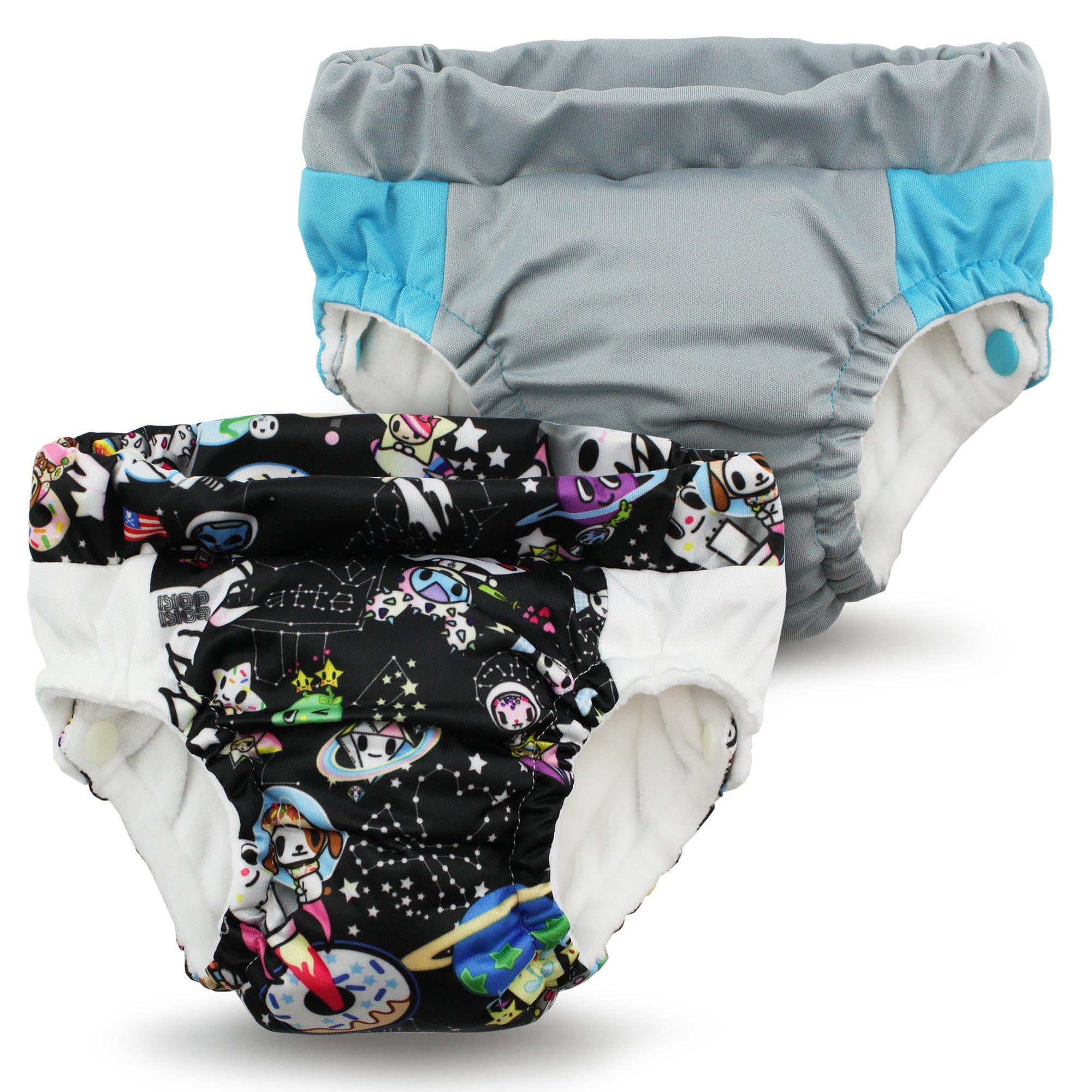 Kanga Care Lil Learnerz Toilet Training Pants, Tokispace & Platinum, X-Small
