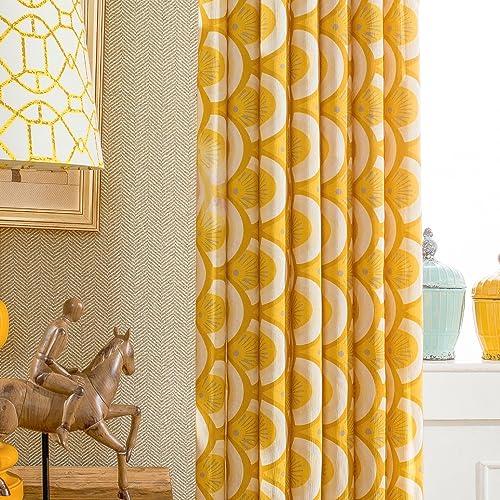 VOGOL Window Room Grommet Curtain Drapes