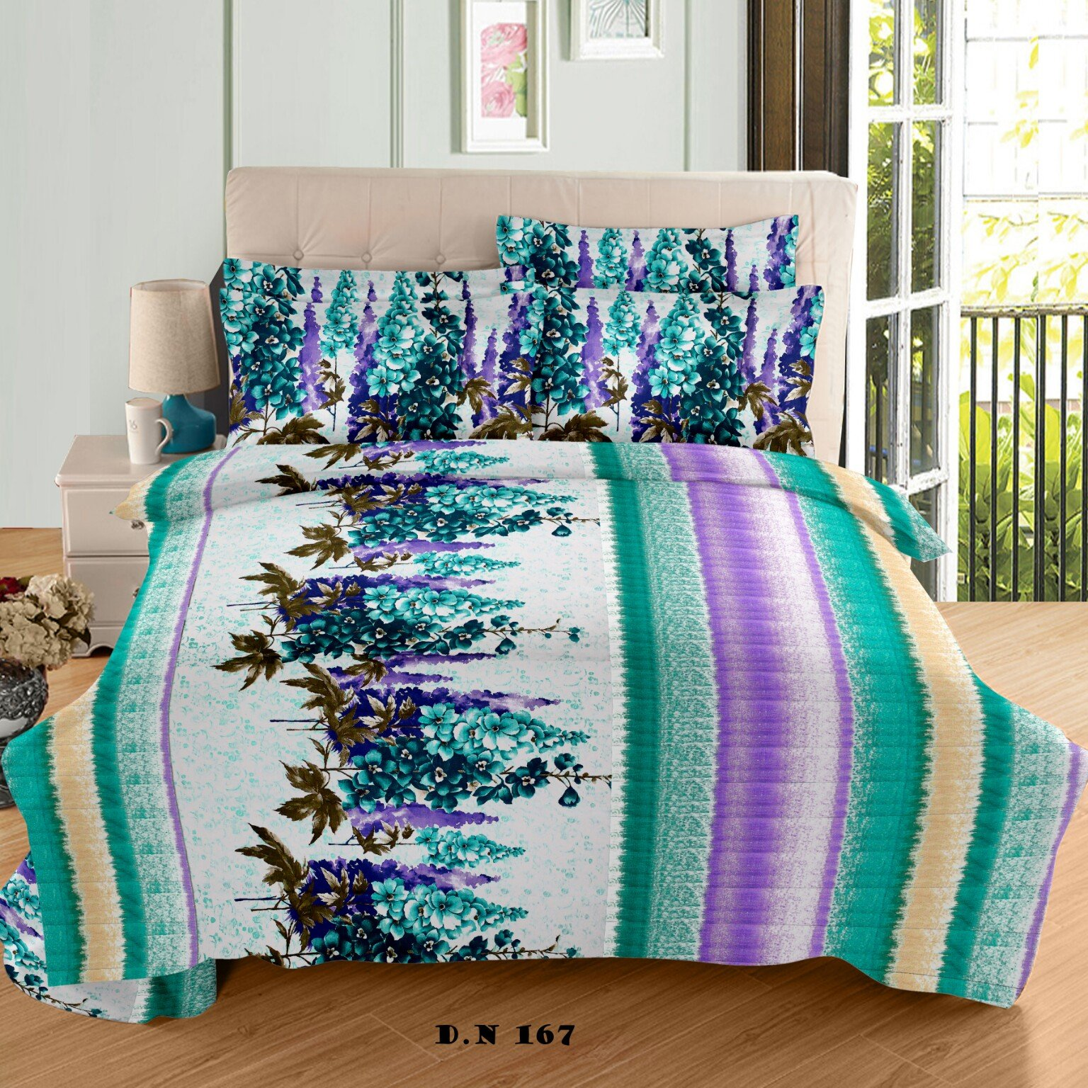 Style House 100% cotton luxury bedding, hotel collection, (double bed size) 100% Cottton - 90108 Inches