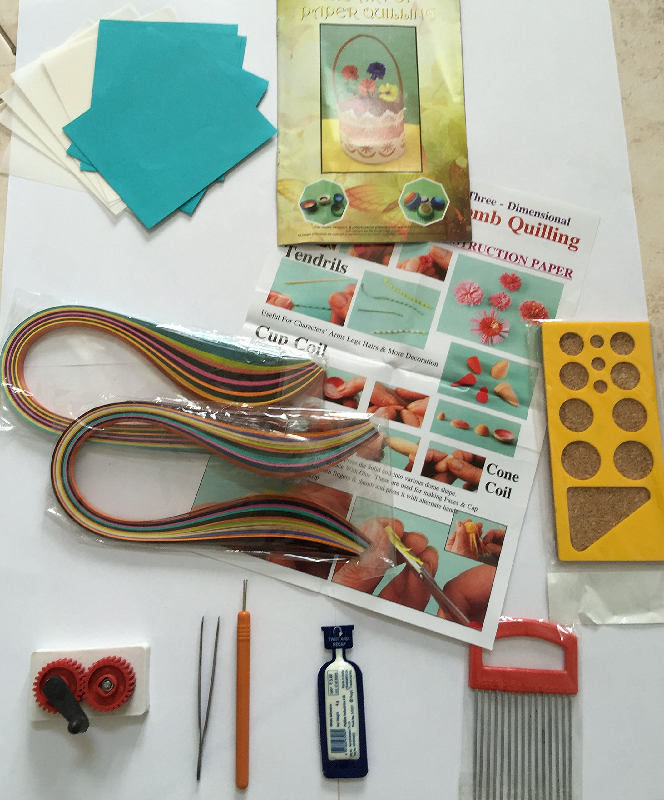 PARAG QUILLING COMPLETE QUILLING KIT STUDENT CRAFT KIT by PARAG