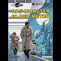 Valerian und Veronique 9: Das Monster in der Metro (German Edition) book cover