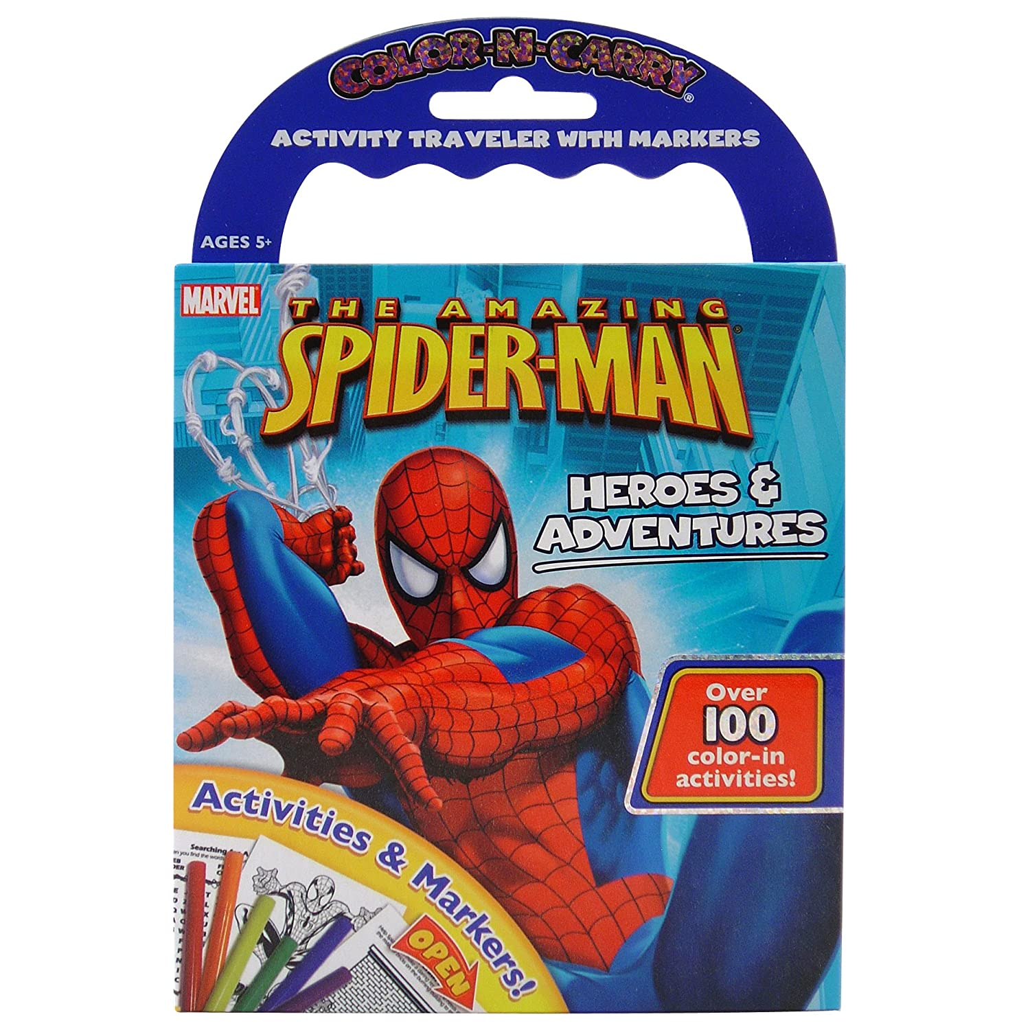 Giddy Up color N Carry The Amazing SpiderMan Heroes & Adventures