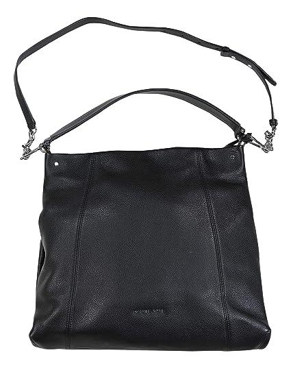 2df960265323 MICHAEL Michael Kors Lex Large Hobo (Black): Handbags: Amazon.com